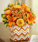 Tote-Ally Fall Davis Floral Clayton Indiana from Davis Floral