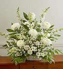 Sympathy Basket in White  Davis Floral Clayton Indiana from Davis Floral