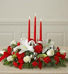Classic Christmas™ Centerpiece  Davis Floral Clayton Indiana from Davis Floral