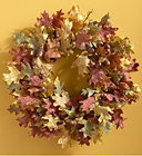 Faux Fall Acorn Wreath Davis Floral Clayton Indiana from Davis Floral