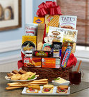 Sweet & Savory Gourmet <br>Snack Gift Basket Davis Floral Clayton Indiana from Davis Floral
