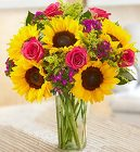 Sunflower Lover's Bouquet Davis Floral Clayton Indiana from Davis Floral