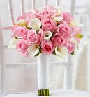 Pink and White <br>Bridal Bouquet Davis Floral Clayton Indiana from Davis Floral
