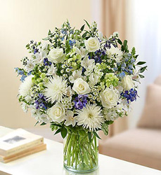 Ultimate Elegance<br> Blue and White Davis Floral Clayton Indiana from Davis Floral
