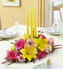 Fields of Europe <br> for Spring Centerpiece Davis Floral Clayton Indiana from Davis Floral