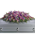 Lavender Tribute <br> Casket Spray Davis Floral Clayton Indiana from Davis Floral