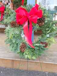 30 Inch Mixed Wreath Davis Floral Clayton Indiana from Davis Floral