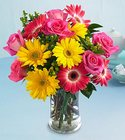 Good Times Rose and Daisy Bouquet Davis Floral Clayton Indiana from Davis Floral