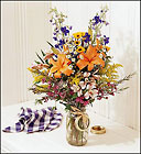 Rustic Wildflowers <BR>in a Jar  Davis Floral Clayton Indiana from Davis Floral