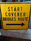 Start Covered Bridges <br> Route Sign Davis Floral Clayton Indiana from Davis Floral