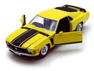 1970 Ford Mustang Boss 302 <br> Hard Top 1/24 Scale Davis Floral Clayton Indiana from Davis Floral