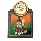 Budweiser Clydesdales <br> Wall Clock Davis Floral Clayton Indiana from Davis Floral