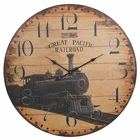 Antique Style Great Pacific <br> Railroad Wall Clock Davis Floral Clayton Indiana from Davis Floral