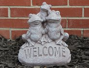 Ornamental Concrete <br> Welcome Frogs Davis Floral Clayton Indiana from Davis Floral