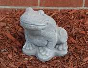 Ornamental Concrete <br> Large Frog Davis Floral Clayton Indiana from Davis Floral