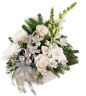 Snowy Morning Bouquet Davis Floral Clayton Indiana from Davis Floral