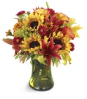 Glorious Fall Bouquet Davis Floral Clayton Indiana from Davis Floral