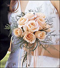 Peach Promise Bouquet Davis Floral Clayton Indiana from Davis Floral