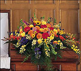Casket Sprays and Urn Flowers for Funerals