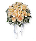 Hand-Tied White Roses Nosegay Davis Floral Clayton Indiana from Davis Floral